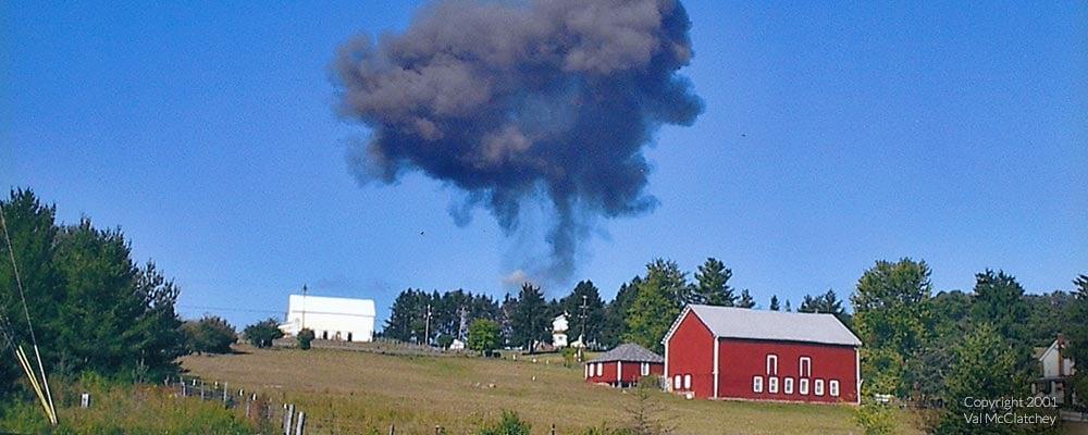 Image result for 9 11 farm field plane crash